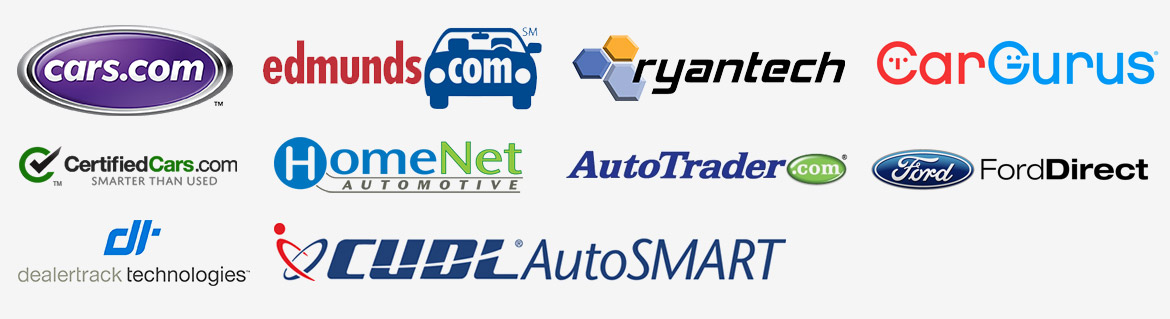 Third-party vehicle listing provides our dealership system works with